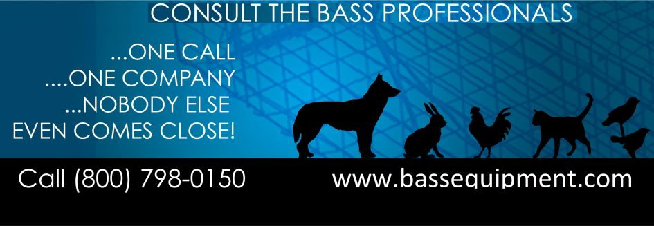 Bass Equipment Company has been an industry leader in the design and manufacture of small animal equ