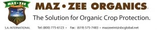 Maz-Zee S.A. International: The Solution for Organic Crop Protection