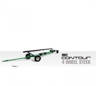 Horst 4 Wheel Steer Header Wagon