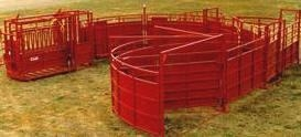 Titan Circular Cattle Working Facility